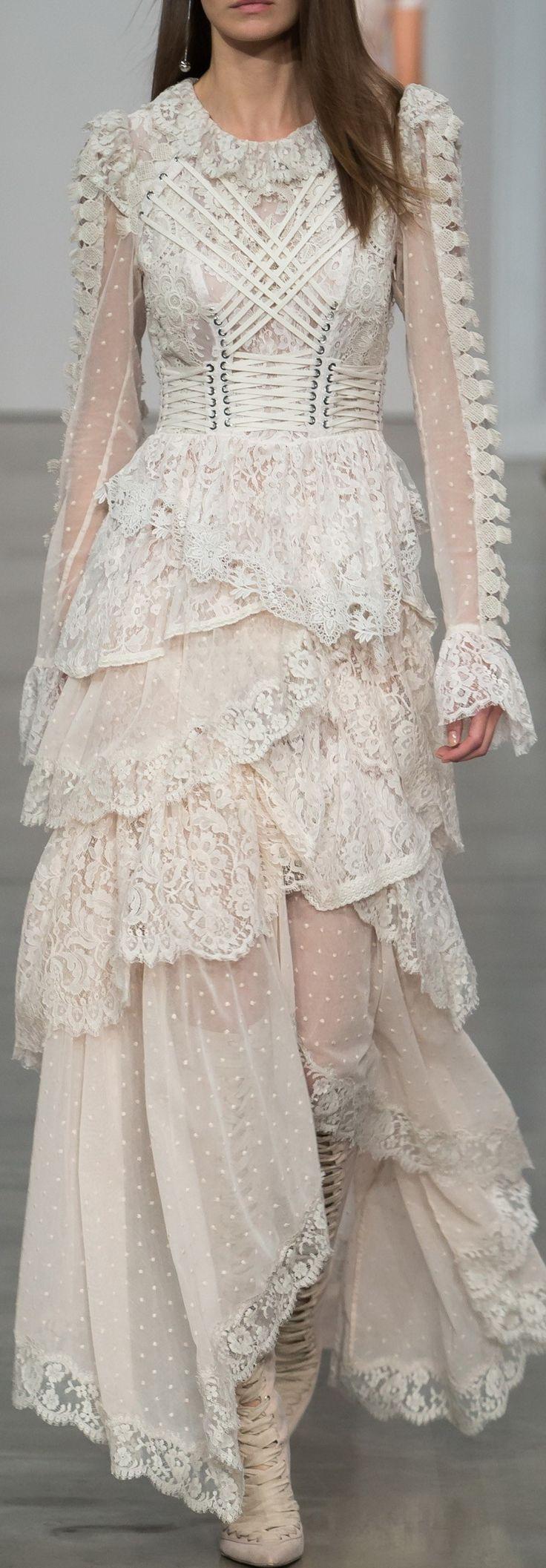 Zimmermann Rtw Spring 2017  Couture Kleider Kleider Couture