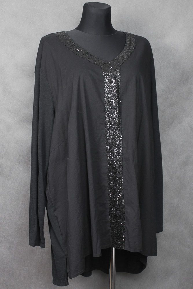 Zizzi Kleid Klänning Kjole Robe Abito Tunic Tunika Gr Xl