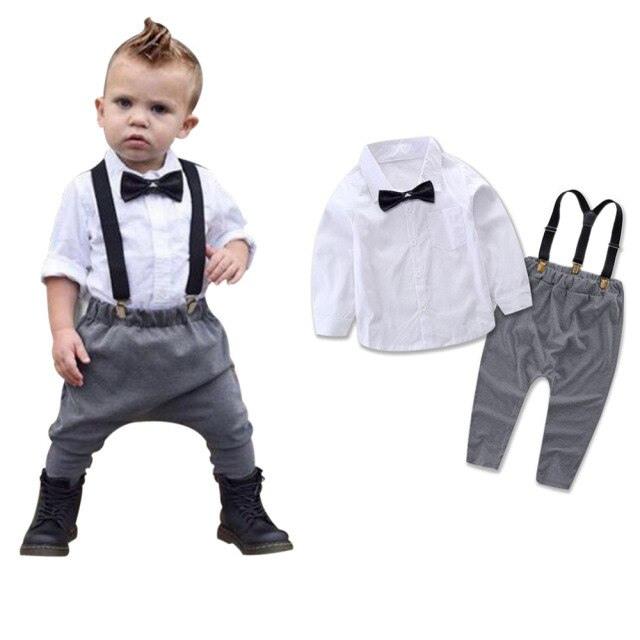Zoerea Baby Junge Anzug Taufe Säuglings Babys Kinder