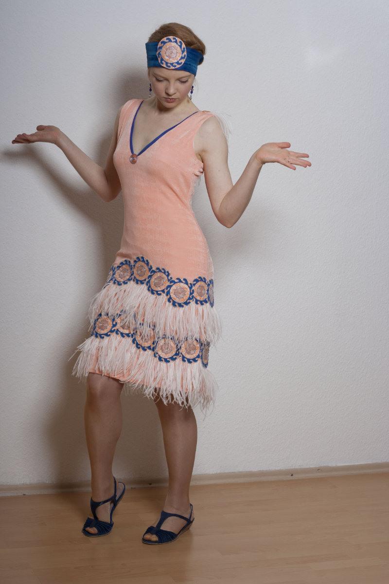 20Er Jahre Kleid  Atelier Rudolfine