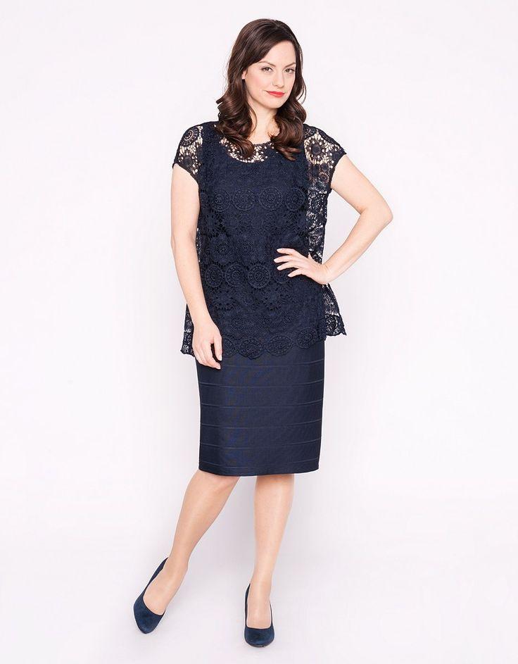 2Teiliges Kleid  Bexleys Woman  Adler Mode Onlineshop