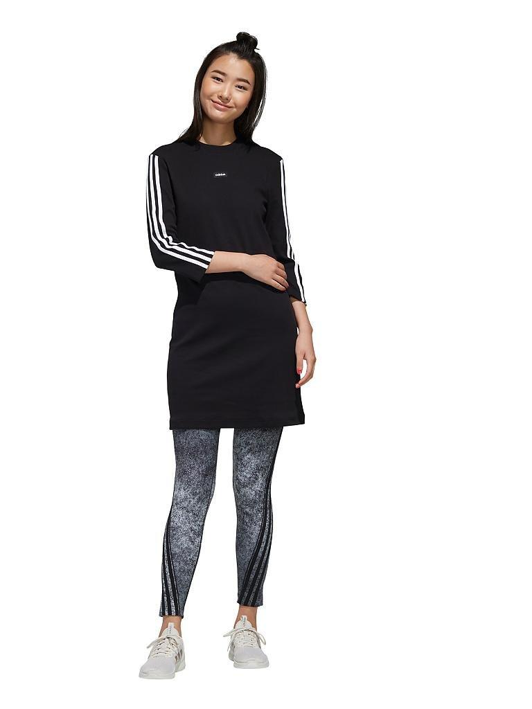 Adidas Damen Kleid Moment Schwarz  Xs