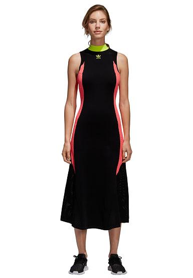 Adidas Originals Aa42 Knit  Kleid Für Damen  Schwarz