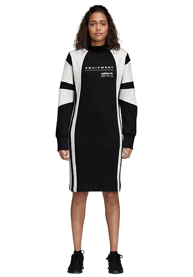 Adidas Originals Eqt  Kleid Für Damen  Schwarz  Planet