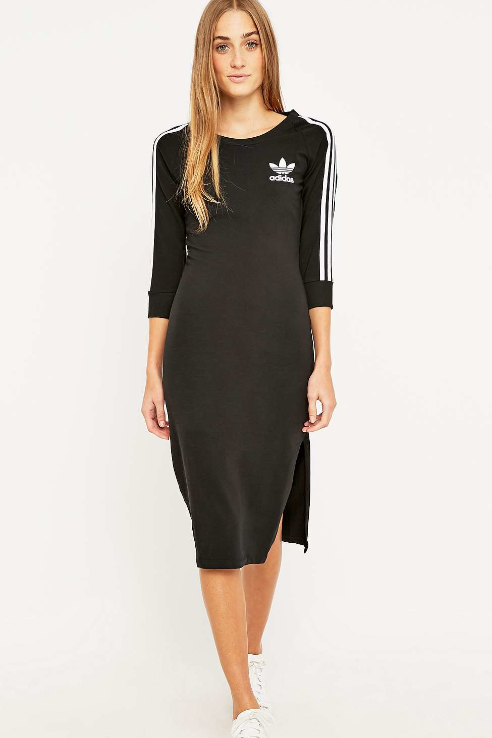 Adidas Originals Kleid Adidas Originals 3 Stripes Kleid
