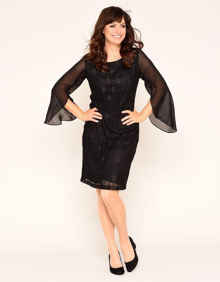 Bexleys Woman Spitzenkleid  Spitzenkleid Modestil Kleider