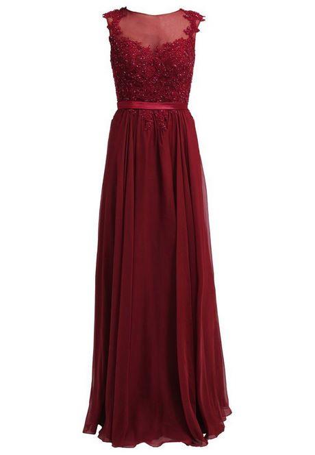 Bordeaux Rot Kleid