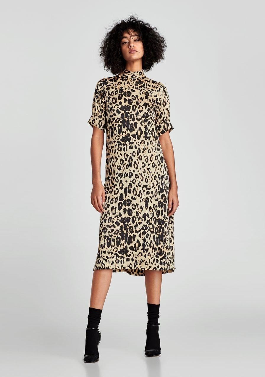 Die Schönsten Sommerkleider Mit Leopardenprint  Kleid