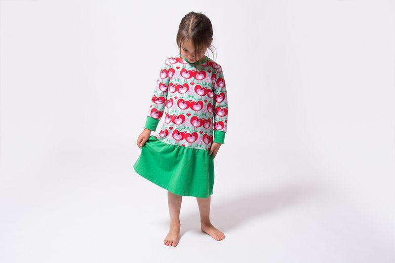 "Kinderkleid ""Leonie""  Kinder Kleider Schnittmuster"