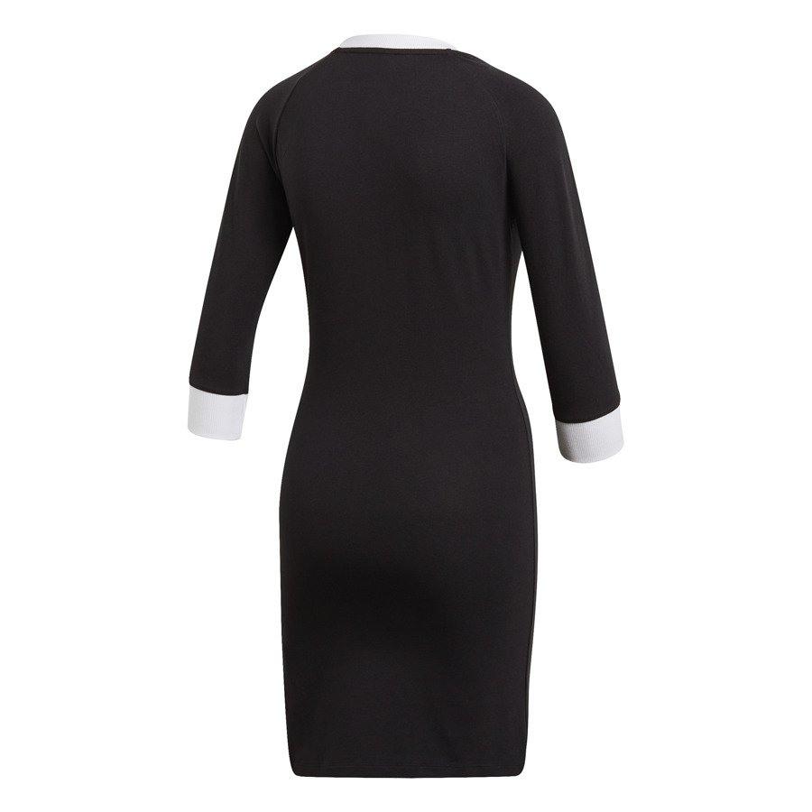 Kleid Adidas Originals 3Stripes Dv2567  Schwarz  Für 37