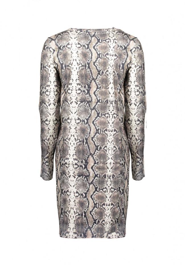 Kleid Mit Schlangenmuster  Modepark Röther Onlineshop
