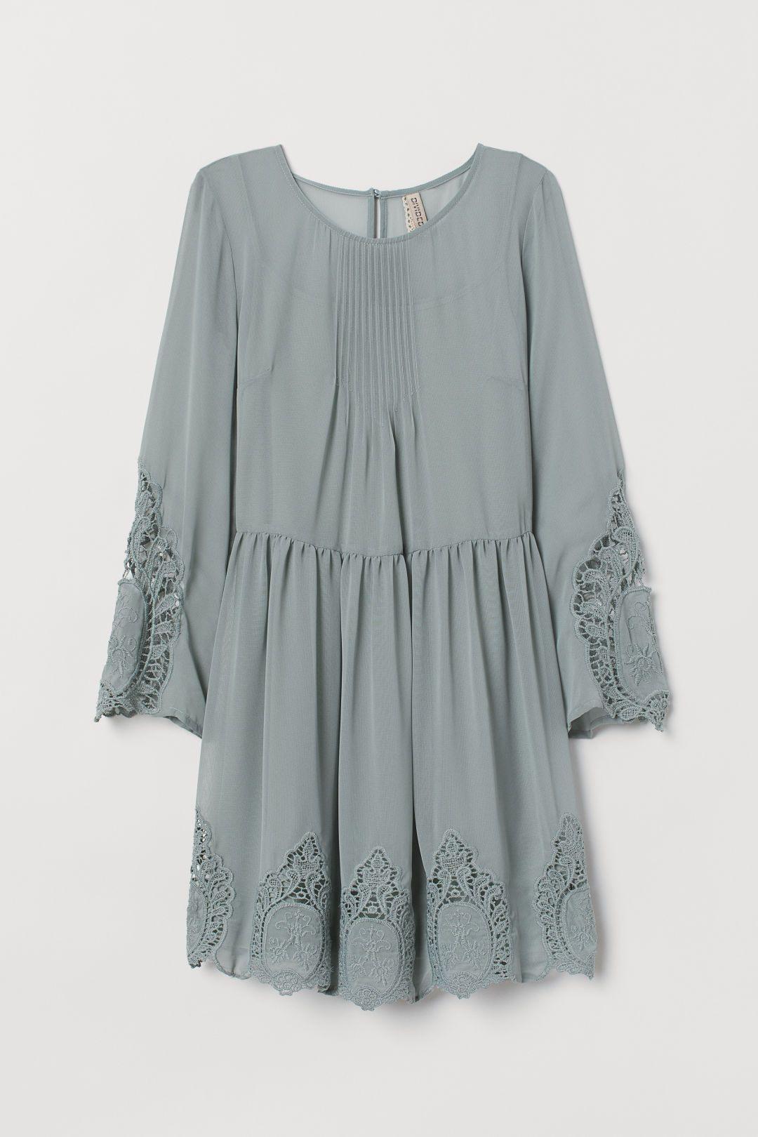 Kleid Mit Spitze  Kleid Spitze Kleider Lässige
