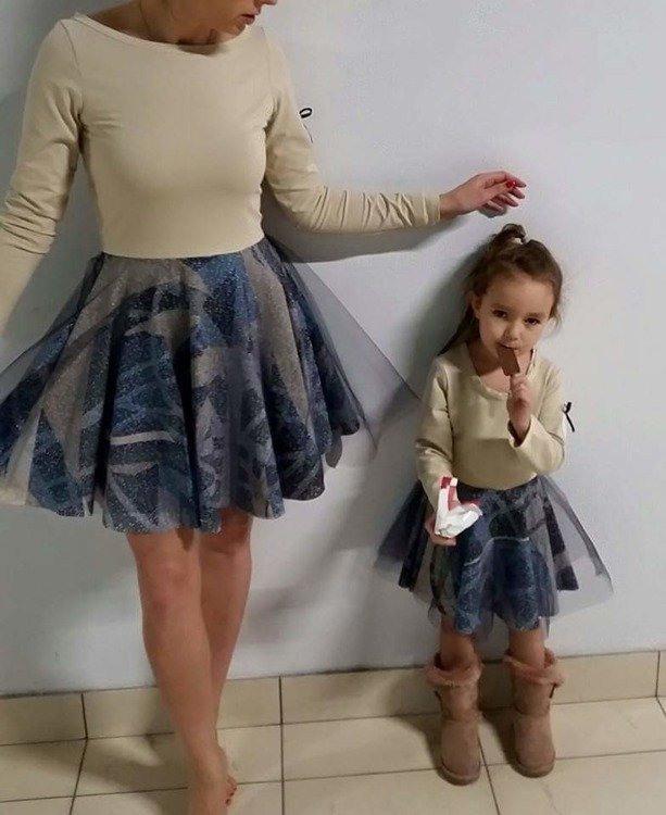 Kleid Mit Tüll  Mädchen  Kleider  Elegante Mädchen