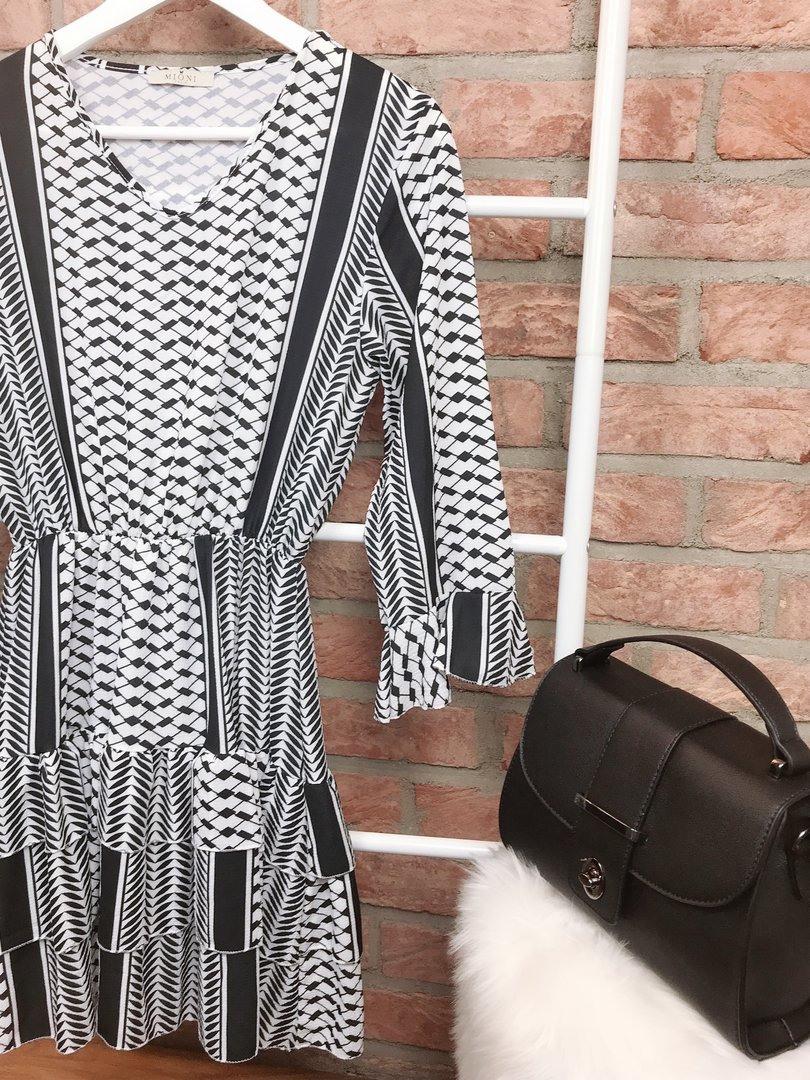 """Kleid """"Pali"""" Schwarzweiß  Mellmie Boutique  Fashion"""