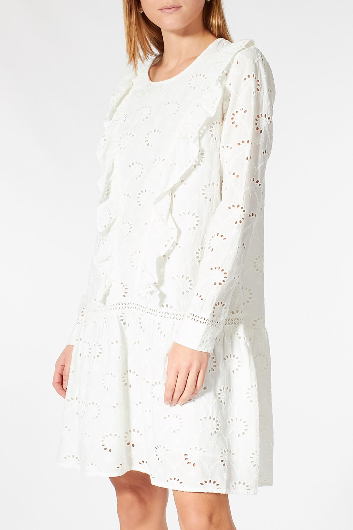 Kleid Rosetta Mit Lochstickerei  Sofie Schnoor