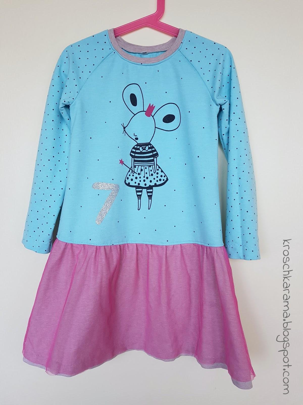 Kroschka Geburtstagskleid Für Die Tochter