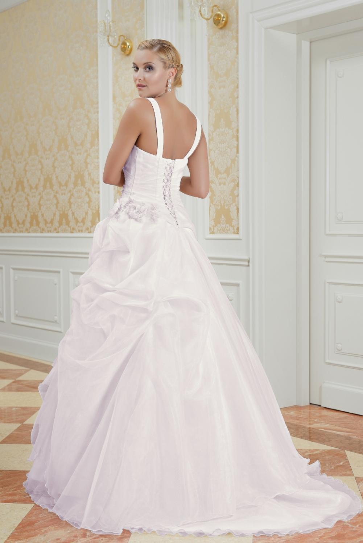 Maßgeschneidertes Hochzeitskleid Rosa Mit Trägern