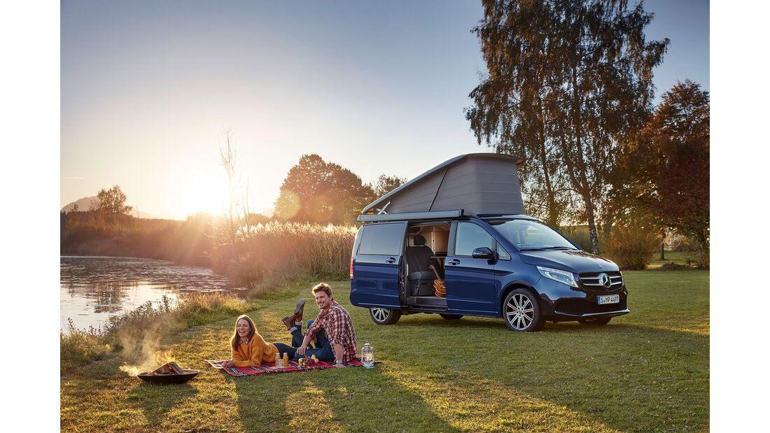 Mercedesbenz Marco Polo 2020 Mit 215 Km/H Zum Campen