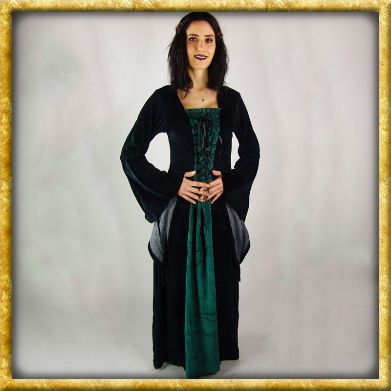 Mittelalter Samtkleid Circe  Diverse Farben  Drachenhort