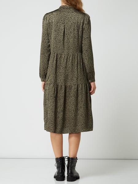 Neo Noir Kleid Mit Tupfenmuster In Grün Online Kaufen