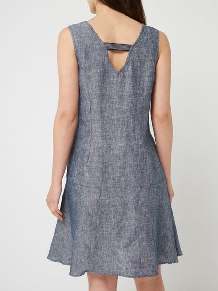 Opus Kleid Aus Leinen In Blau / Türkis Online Kaufen