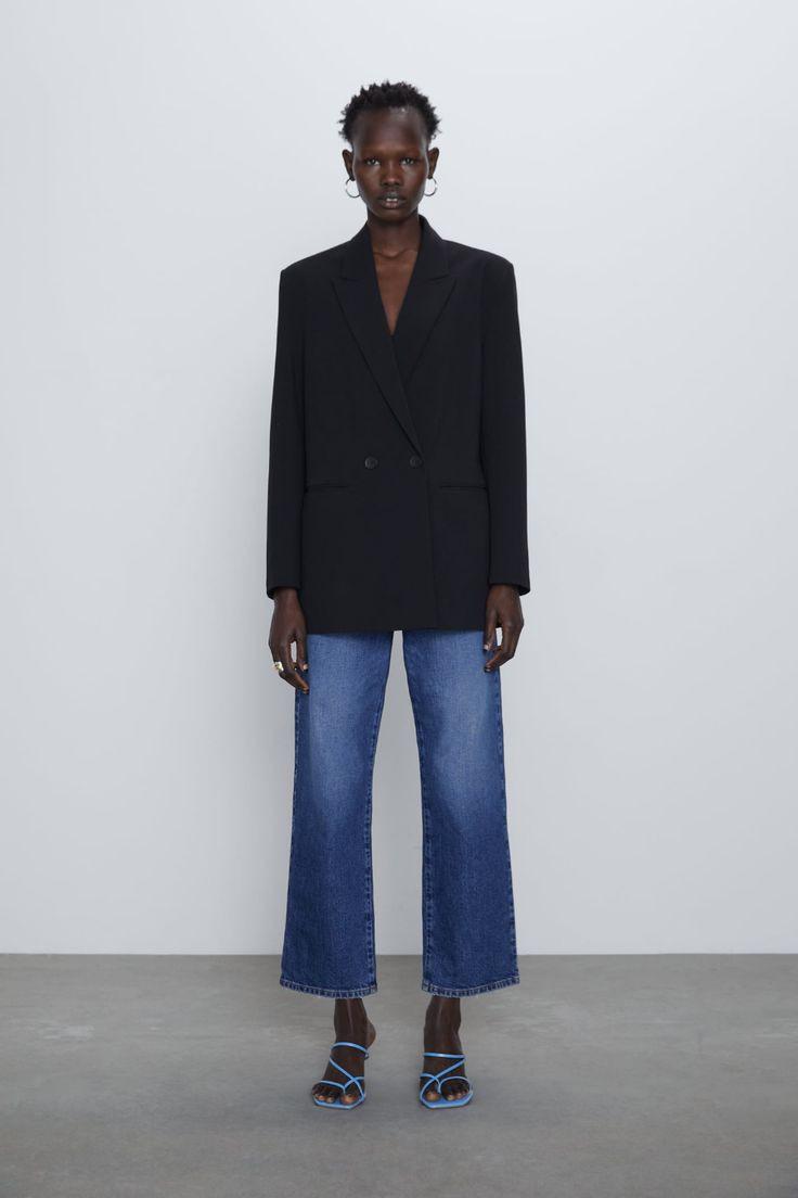 Oversized Double Breasted Jacket  Zara United States In