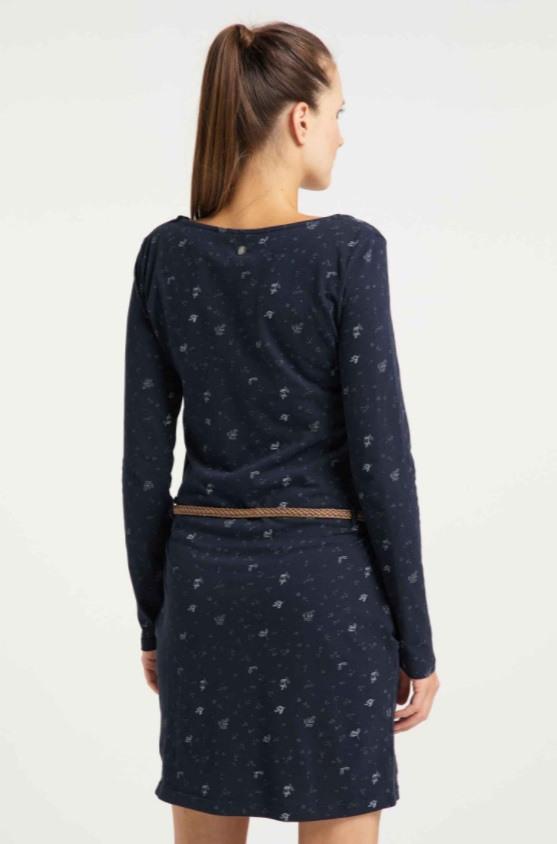 Ragwear Kleid Talona Organic  Farbe Navy  Größe M