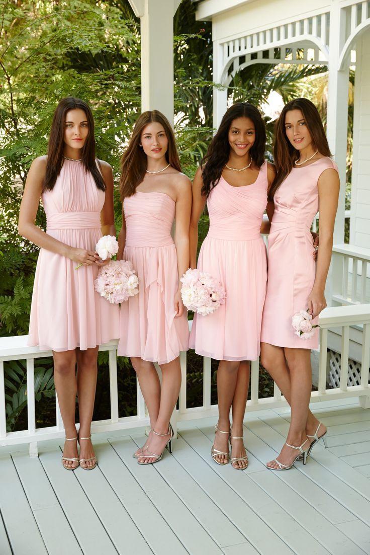 Rosa Brautjungfernkleider  Festliche Kleider Hochzeit