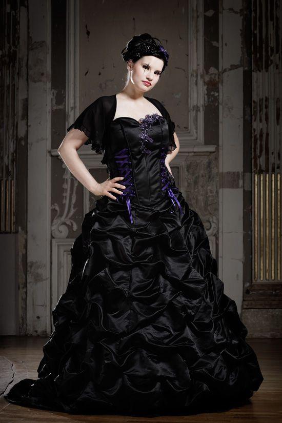 Schwarze Brautkleider Farbige Brautmode Und Ausgefallene