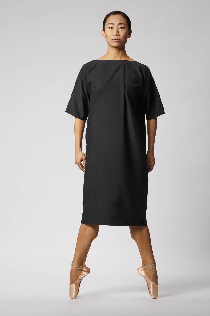 Seidenkleid Mit Elegantem Rückenausschnitt Von Luxaa  Luxaa