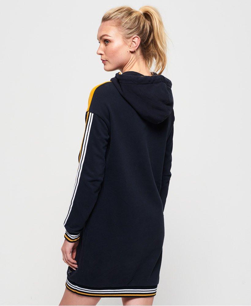 Superdry College Sweatkleid Mit Kapuze  Damen Kleider