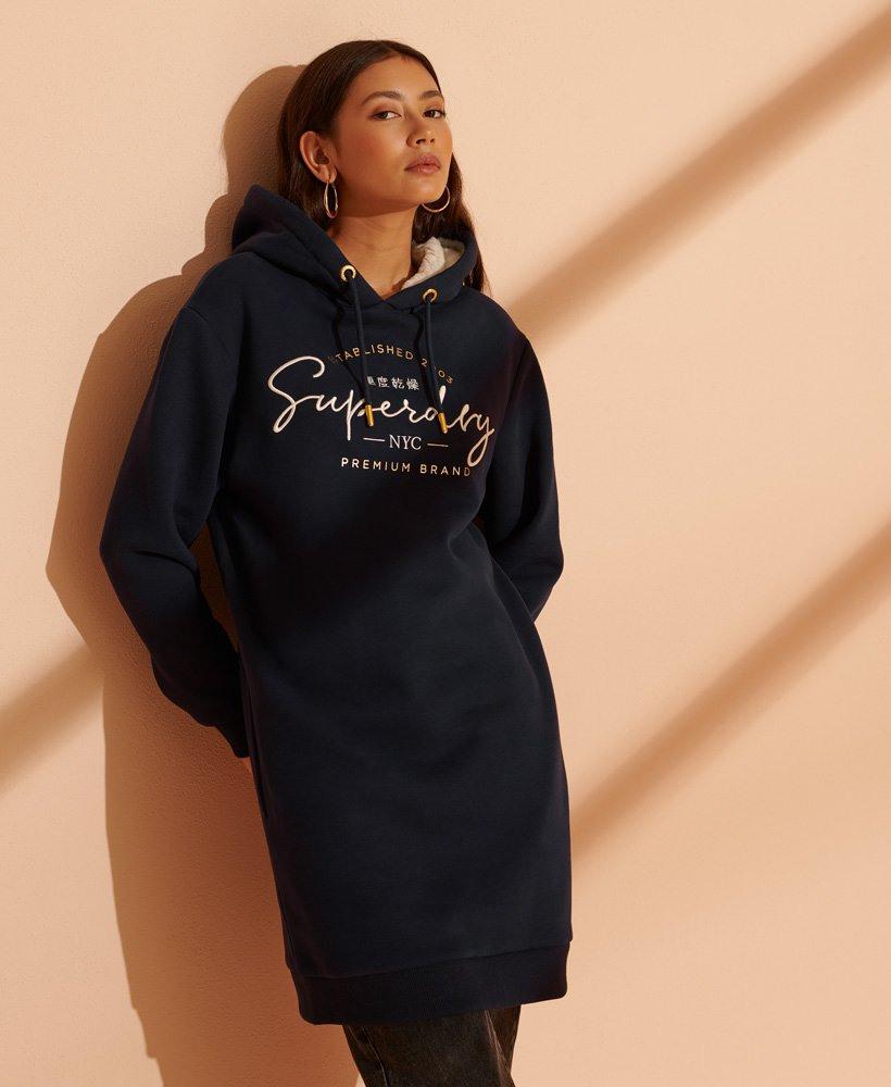 Superdry Established Sweatkleid  Damen Kleider
