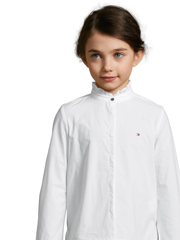 Tommy Hilfiger Bluse Weiß Für Mädchen Nickis
