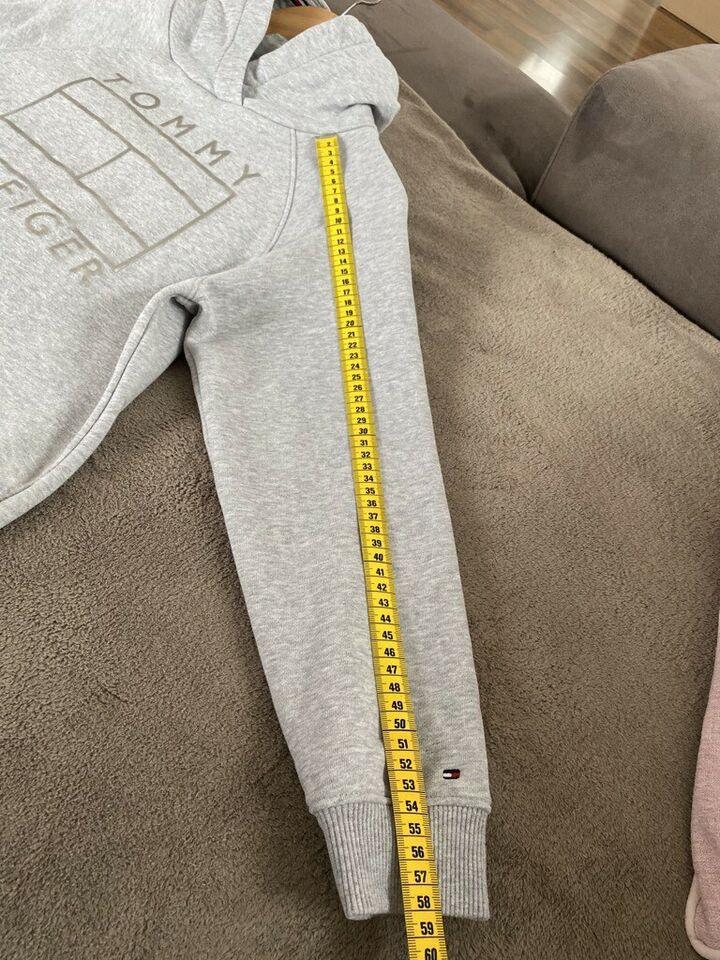Tommy Hilfiger Kleid Grau Kapuzenkleid 152 Wie Neu