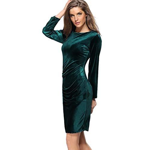 Top 8 Samtkleid Damen Grün  Abendkleider Für Damen  Starby