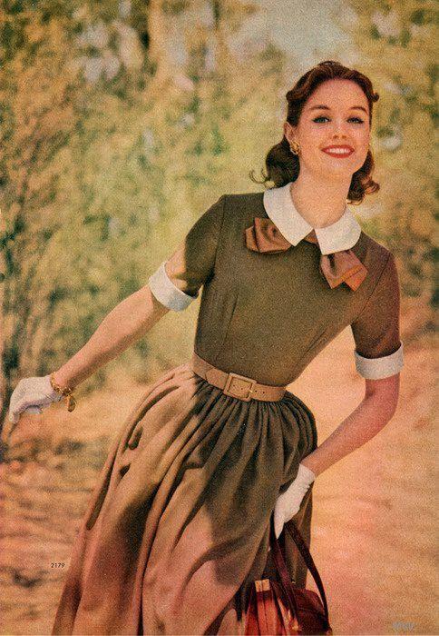Vintage Mode Kleidung Und 50Er Jahre Mode