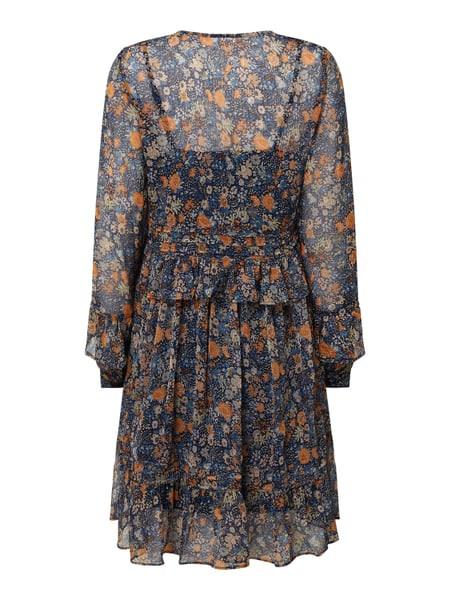 Yas Kleid Aus Chiffon Im Stufenlook Modell 'Pepita' In