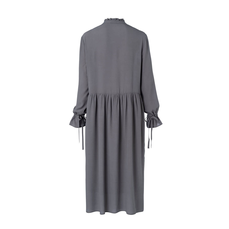Yaya Viskosekleid Grau  Mehr Yaya Fashion Im Shop