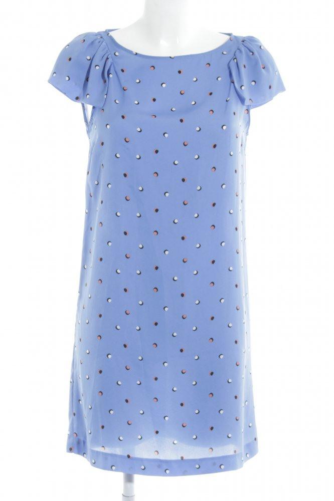 Zara Basic Blusenkleid Punktemuster Casuallook Damen Gr